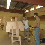 Building Laker at Great Lakes Boat Building School 2008