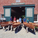 Finished Flyfishers at WoodenBoat School 2006